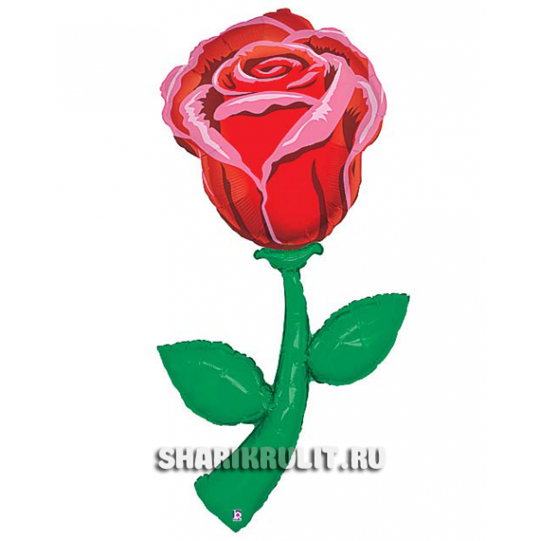 Шарик фольгированный  Роза