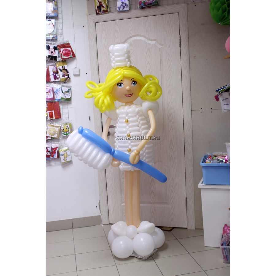 Медсестра из шаров